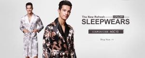 10%OFF for mens sleepwear
