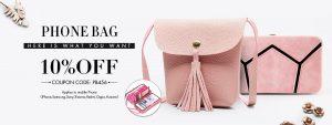 10% off Phone Bag