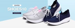 10%off for shoes