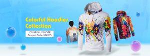 15% off for Men's Print Hoodies