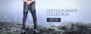 10% off for Mens Outdoor Pants