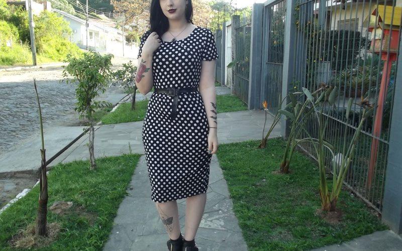 Midi Dress Polka Dots