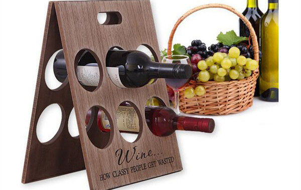 wood wine rack