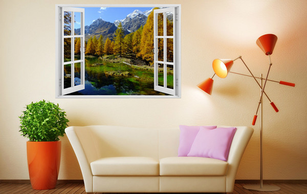 3D Wall Stickers For Chic Style Home Decoration