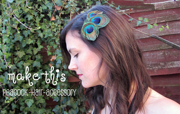 How To Have Bohemian Style With Peacock Hair Accessories