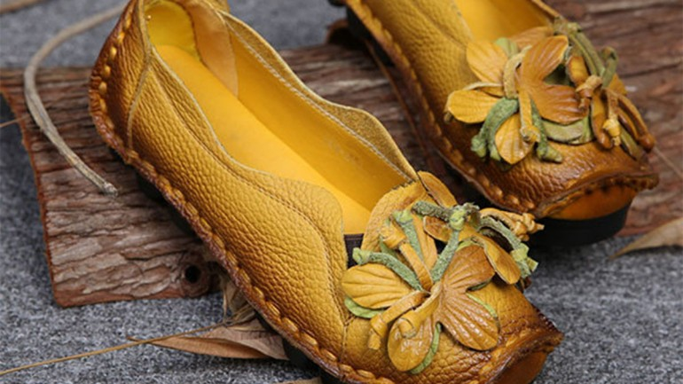 Socofy | Vintage & Comfy Handmade Women's Shoes
