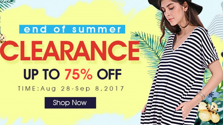 Newchic Summer Clearance Party Begins, Up to 75% Off!