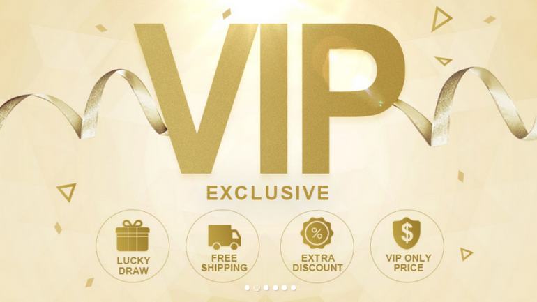 Special Benefits for Newchic VIP