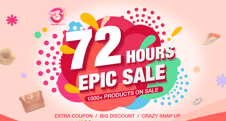 72 Hour Super Snap Up Is Coming!! ( $15 Coupon Giveaway! )