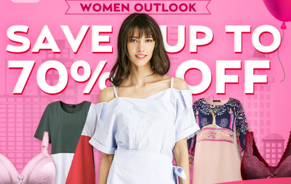 Women Outlook Up to 70% Off