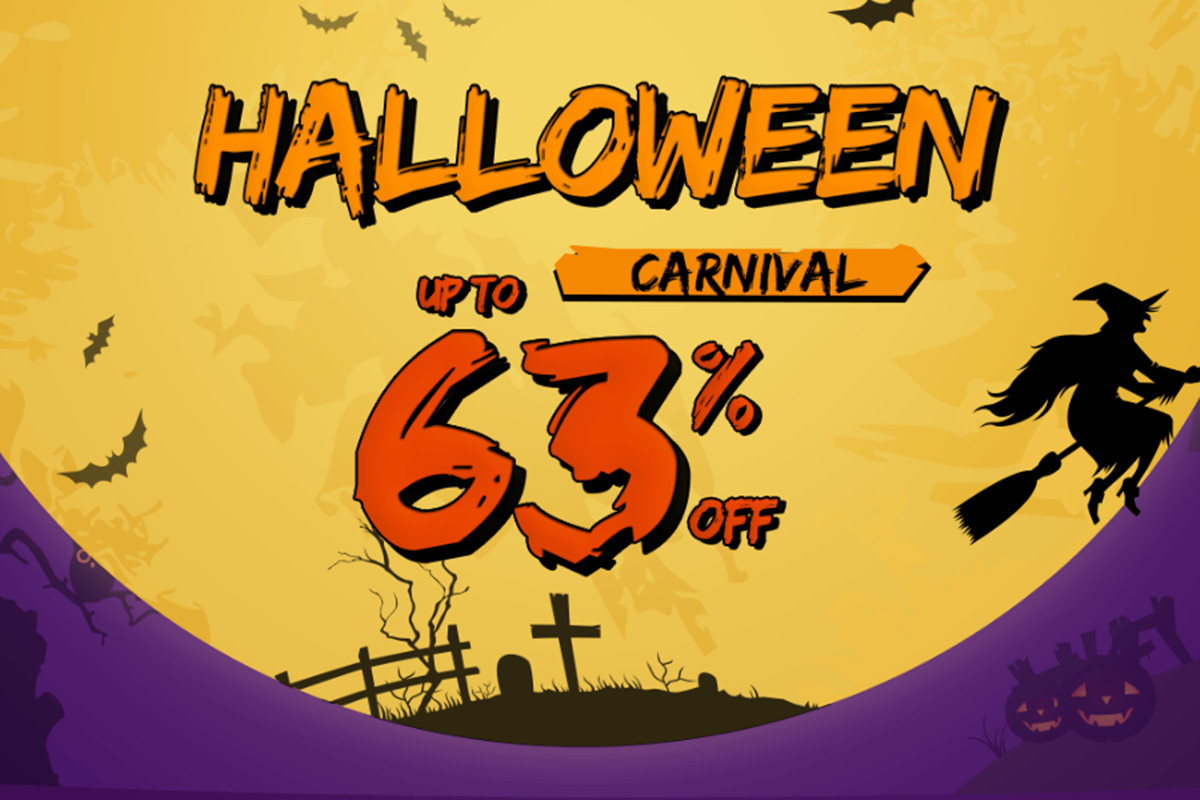 Newchic Halloween Carnival, Up to 70% Off