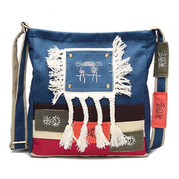 cute canvas crossbody bag