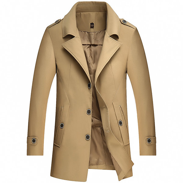 4 Top Tips for Wearing A Mens Trench Coat