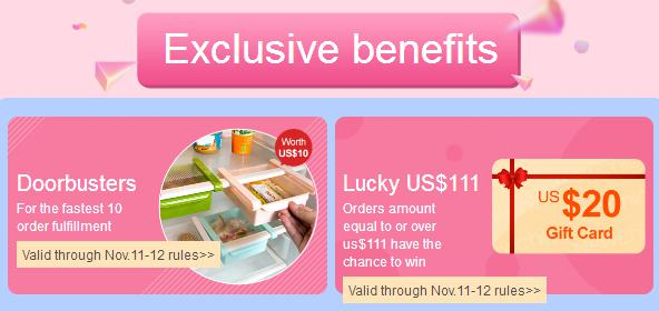 Newchic 11.11 Mega Sale