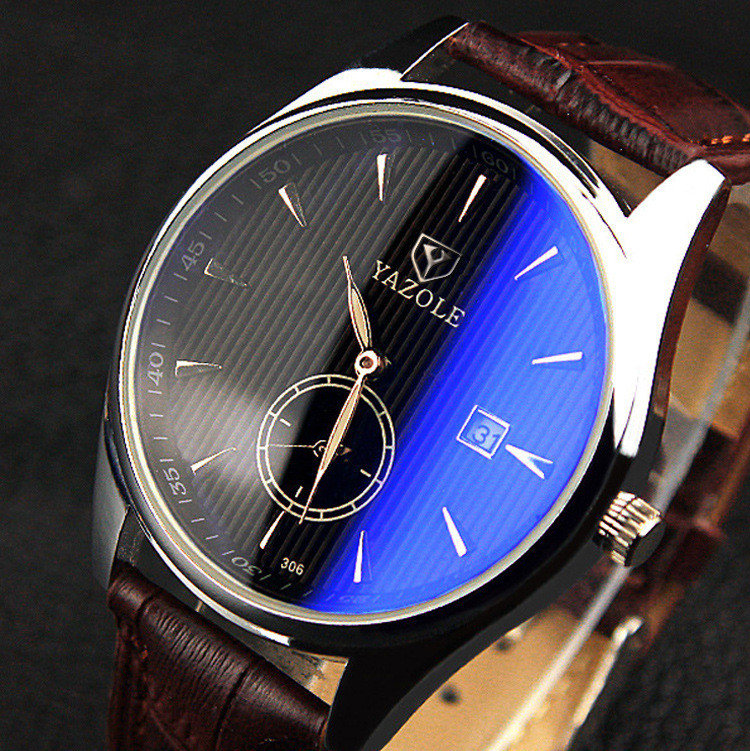 Newchic calenda leather watch