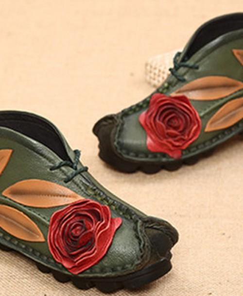Handmade Genuine Leather Socofy Boots: So Comfy & Fashion