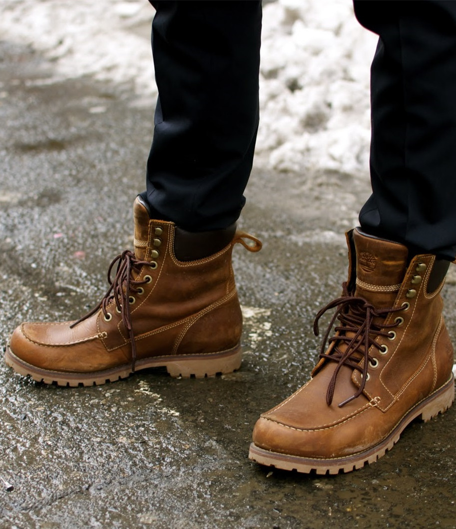 Mens Fashion Winter Boots