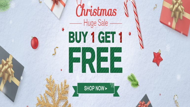 Buy 1, Get 1 For Free In 2017 Newchic Christmas Sale, Up to 80% Off!