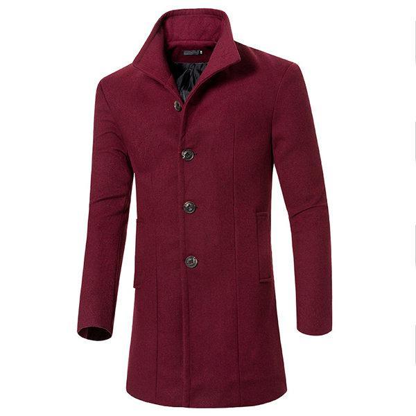 Newchic long wool coat giveaway