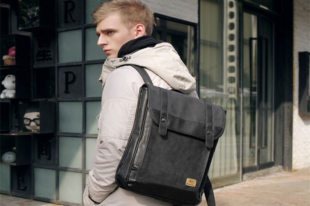 6fe7000fcee4 Save Be A Fashionista With The Coolest Mens Backpacks from Newchic