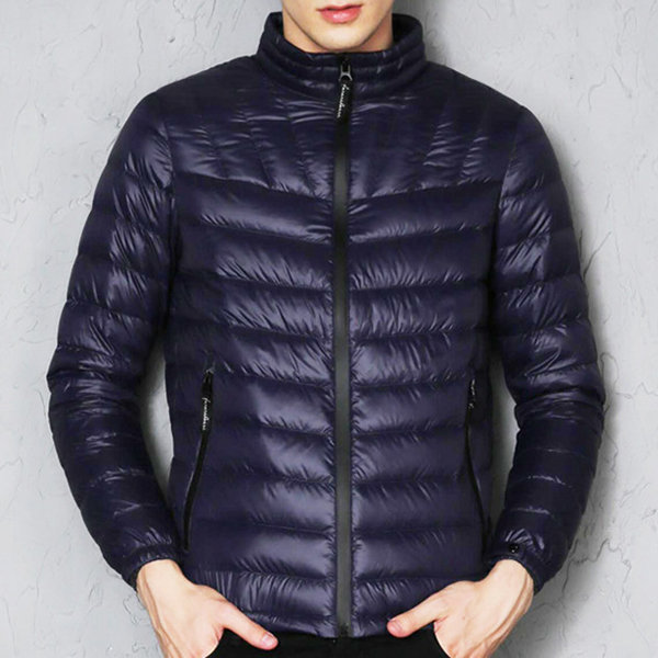 padded puffer coat for men