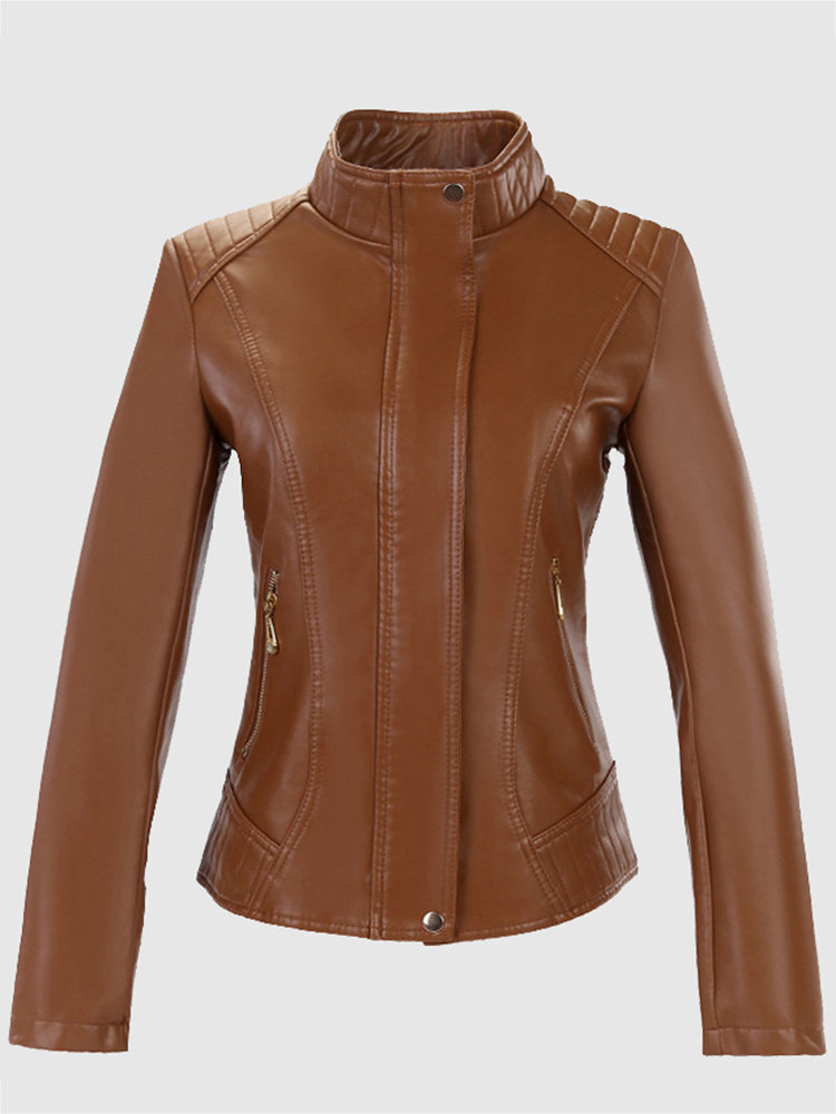 How to Pair with the Leather Jackets for Women in Spring ...