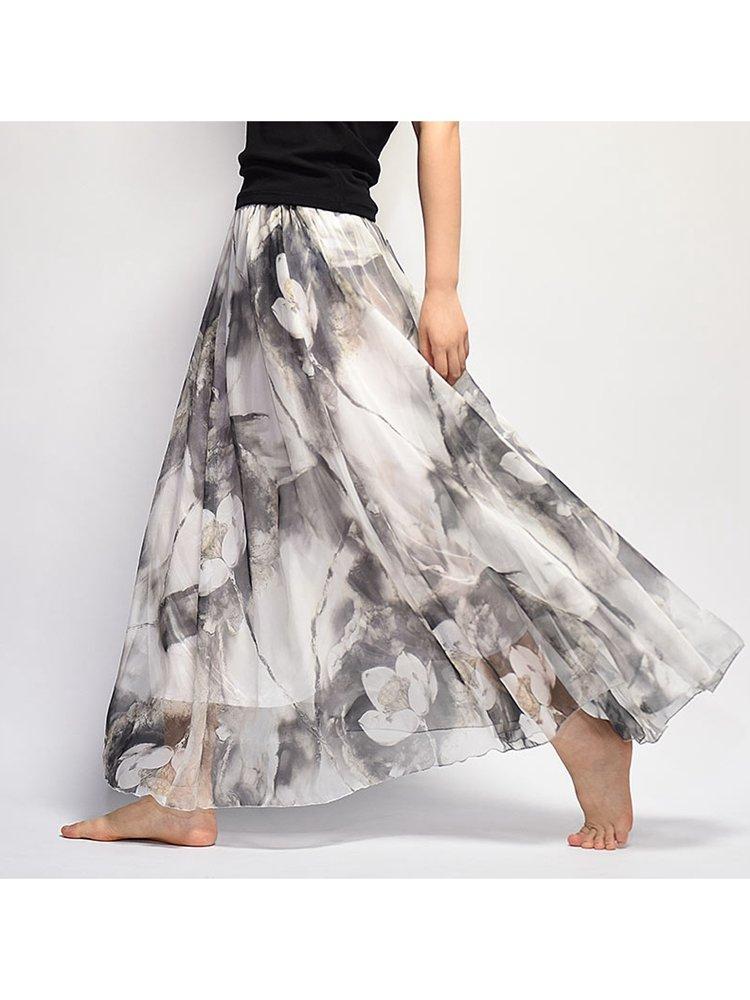 Newchic maxi skirt