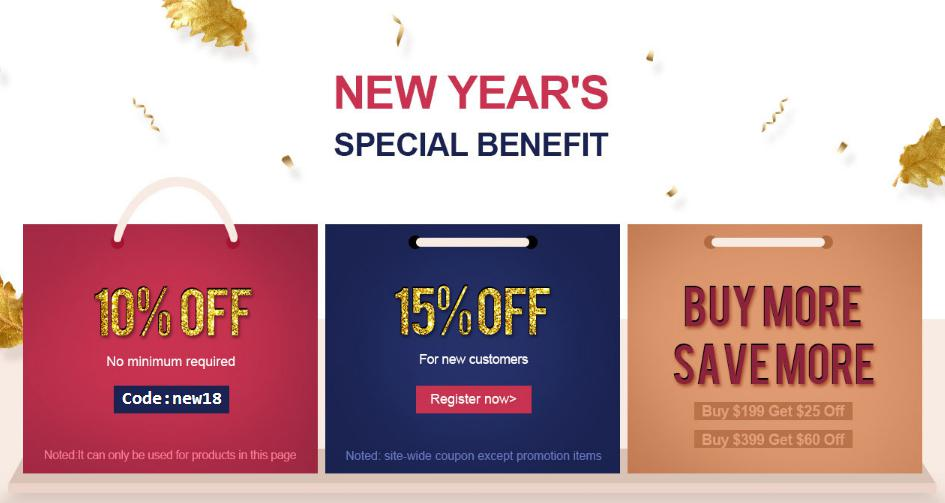 promotion sale of 2018