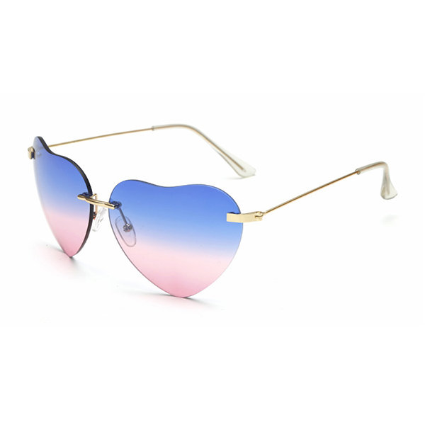 stylish heart shaped sunglasses