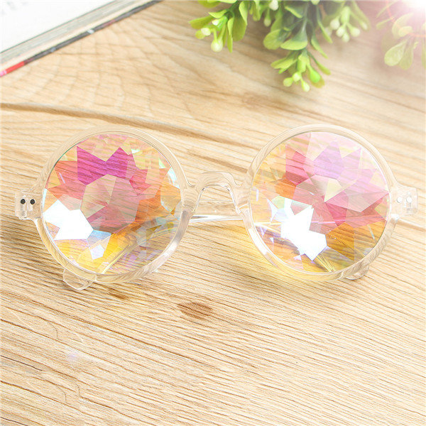 stylish kaleidoscope glasses