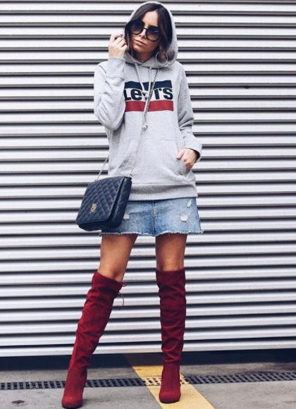 How to Style Women's Boots in Spring of 2018 2