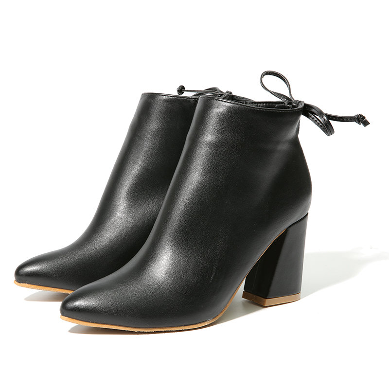 Newchic black ankle boots