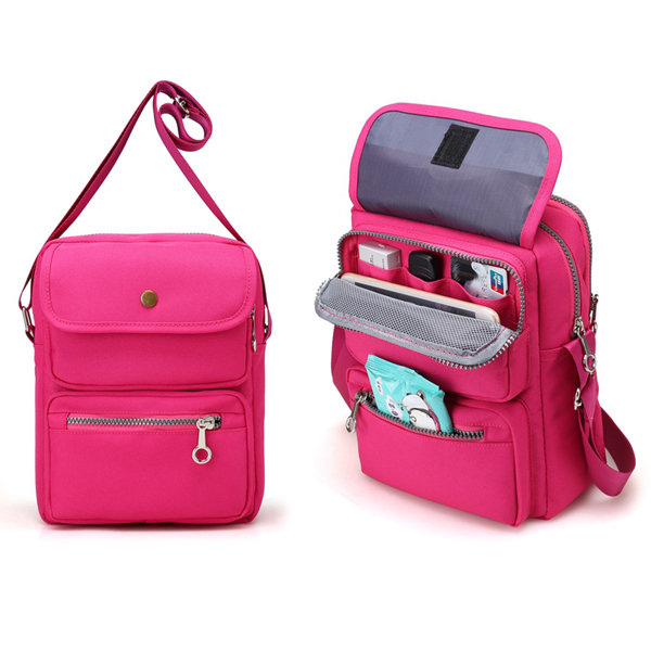 Nylon crossbody bags for travel