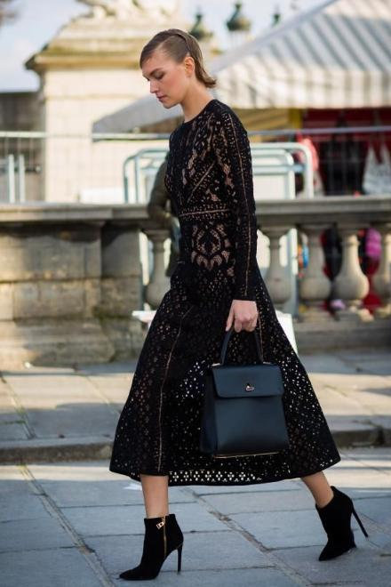 What Shoes Should You Wear With the Designer Lace Dress 1