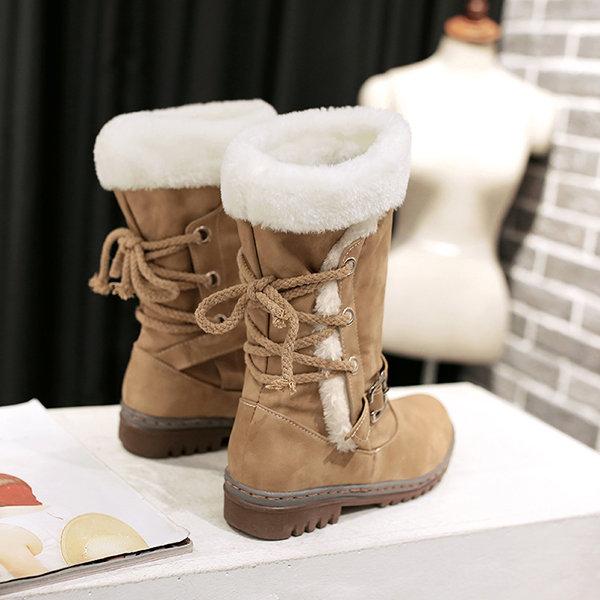 faux womens fur boots