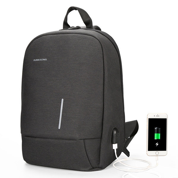 theft proof backpack with usb charger