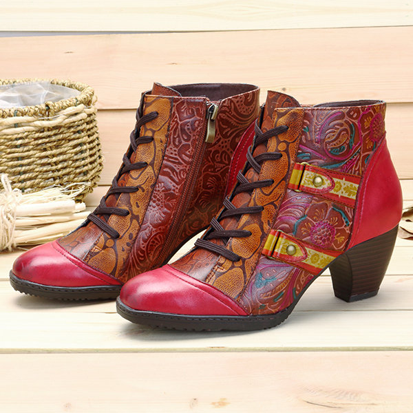 vintage boots Socofy
