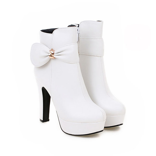 white women's boots