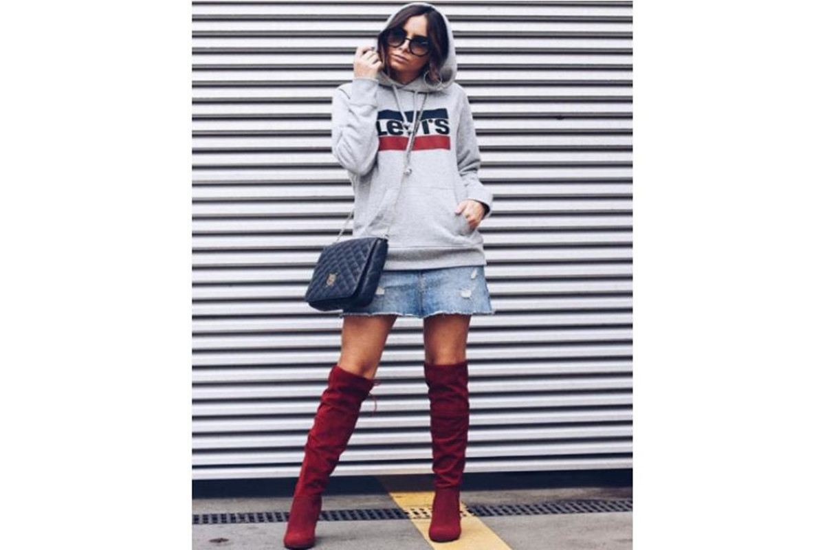 How to Style Women's Boots in Spring of 2018
