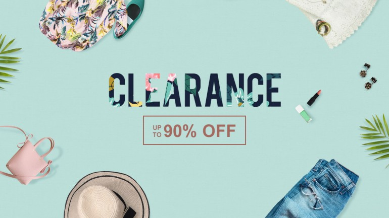 Newchic Spring Clearance 2018, Up to 90% Off!