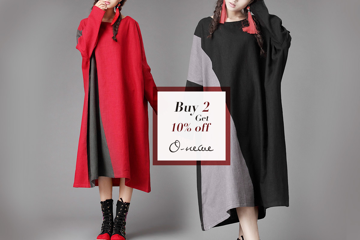 Stylish and Comfortable O-Newe Dresses, Extra 30% Off!