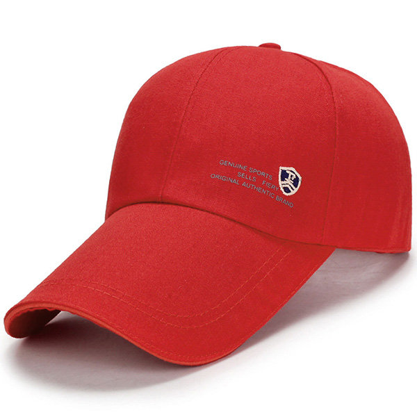 red fashion baseball caps