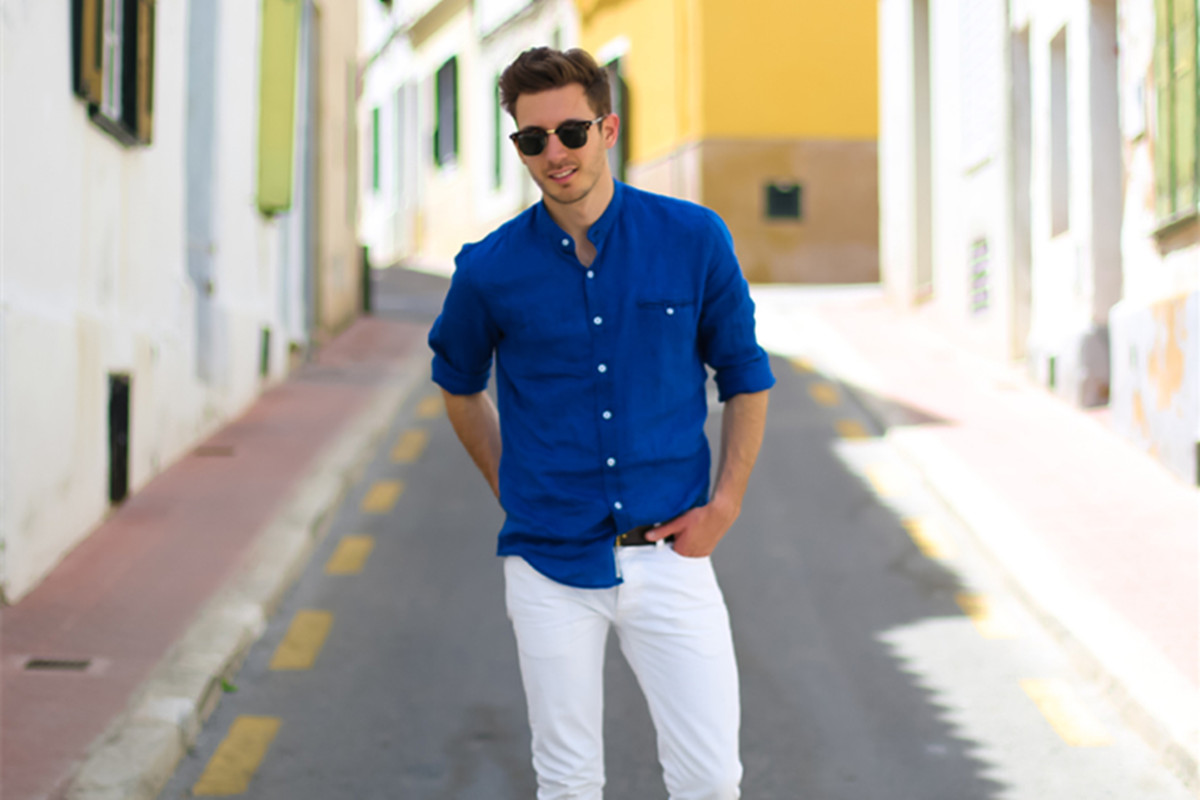 How To Wear Linen Shirt To Make You Look Fashionable Newchic Blog