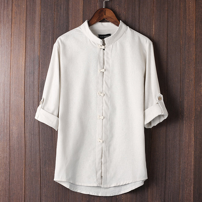 mens linen dress shirts