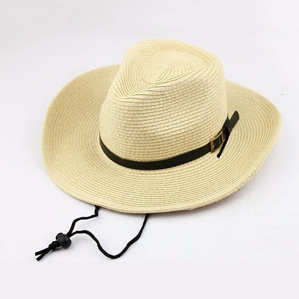 straw bucket hat