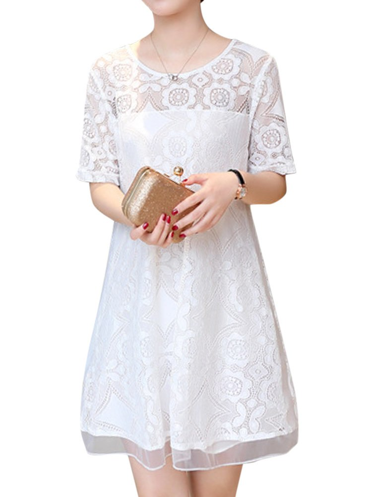 short sleeve summer dress