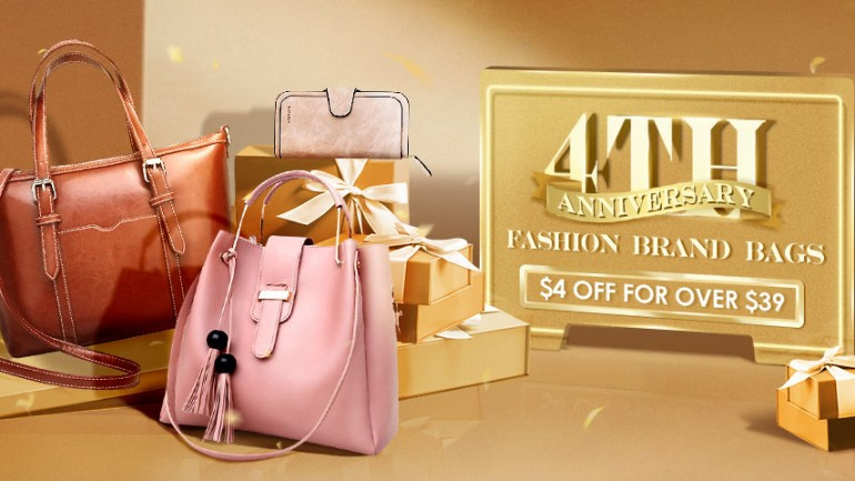 Newchic 4th Anniversary Brand Bags Big Sale