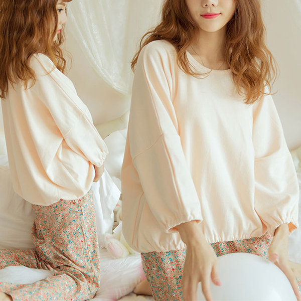 Comfortable Loose Modal Soft Pajama Set For Women