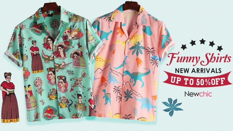 The best Hawaiian T-shirt on newchic in 2019