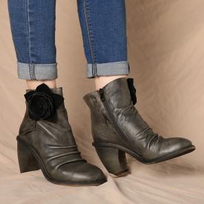 Socofy Women Anket Boots